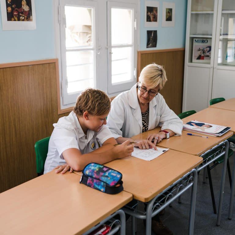 International School Barcelona - Individualized instruction